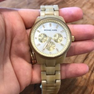 MK Mother Of Pearl Watch